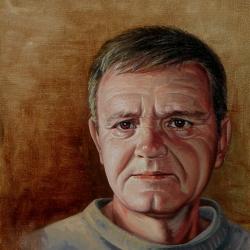 Otac, 30x27 cm, 2005.