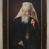 Patrijarh Pavle 80x50 cm,2020.